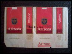 Coleção de carteiras de cigarros: MAÇOS LETRA A