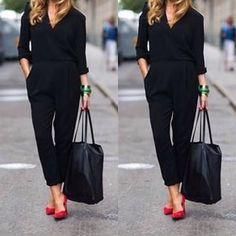 Macacao formal#advogatas#advogada#accountant#advoguettes#businesswoman#businesschic#chic#casualchic#contadoras#dujour#executivas#fashion#fashioninsta#inspiration#inspiracao#instafashion#instagirl#lawyer#lookclassico#lookdodia#lookdetrabalho#lookcorporativo#modaexecutiva#modacorporativa#ootd#outfit#officewear#parisienne#roupadetrabalho#streetstyle by eleganciadeviver