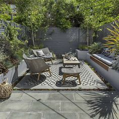 Private Small Garden Design - Designed and constructed be The Garden Builders
