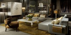 Coleccion Alexandra. Notice the leather bag on the side of the sofa.