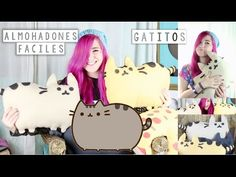¡HAZ TUS PUSHEEN CAT ALMOHADONES! ✩ DIY facil - Ann Look - YouTube