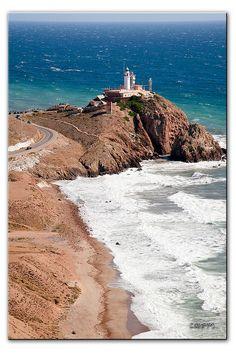 Faro Cabo de Gata... at sunset on my honeymoon? i think yes