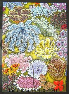 """Fleurs des champs (Détail de """"Soleil pour témoin"""")"""
