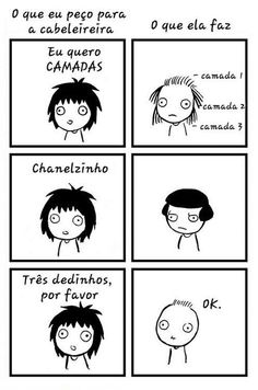 Drama - Humor - Cabelereiro