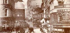 Bull Street Birmingham taken from High Street in 1880