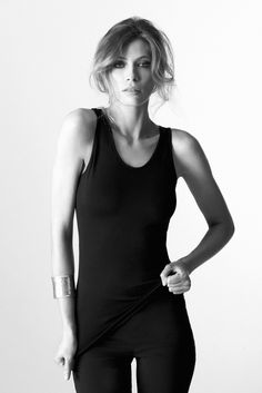 Seamless Scoop Neck Tank - Featuring thick straps, a scooped neckline and a soft hand feel, this seamless scoop neck tank is a comfortable, easy wear and is the perfect layering base. In store now!