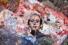 Art Du Collage, Sculpture, National Geographic, New Art, Les Oeuvres, Feminism, Art Reference, Vsco, Backgrounds