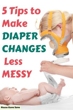 Do you want to know how to make diaper changes easier? Here are 5 diaper changing tips to make diaper changes less messy. Newborn Baby Tips, Newborn Diapers, Diaper Changing Station, Diaper Changing Pad, Pregnancy Facts, Pregnancy Tips, Kids And Parenting, Parenting Hacks, Used Cloth Diapers