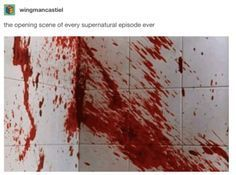 """""""Supernatural"""" Is An Absolutely Bonkers Show And These Tumblr Posts Prove It"""