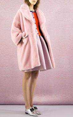 Granpa Oversized Faux-Fur Coat by Vivetta - Moda Operandi