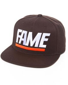 Fame Block Snapback Cap by Hall of Fame