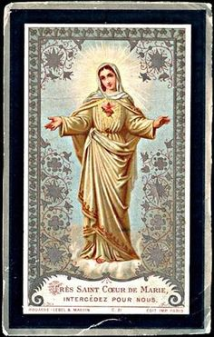 Most Holy Heart of Mary, intercede for us.