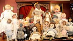 """Dollmastery Vignette Series Presents the Blackler Collection and Early American Cloth Dolls Part 4 """"An American Childhood"""" October 4th-6th, 2014"""
