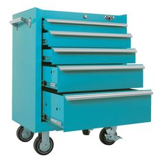 Amazon.com: Viper Tool Storage V2605TLR 26-Inch 5-Drawer 18G Steel Rolling Tool Cabinet, Teal: Home Improvement