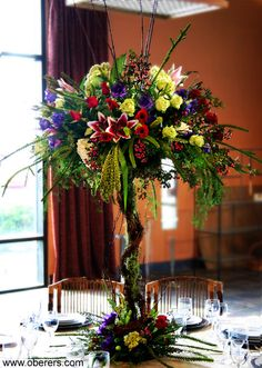 Dayton/Cincinnati/Columbus, Ohio (OH) Wedding Bouquets - Oberer's Flowers
