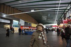 Grzegorz Drozd, 6,28, 2009-10 site-specific installation in Warszawa Wschodnia Railway Station