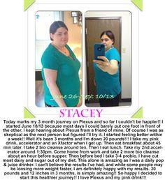 Stacey has had some fabulous results with Plexus just read what she has to say!  www.plexusslim.com/chapman ashleyplexus@gmail.com Silver Ambassador #142593  #plexus #plexusslim #weightloss