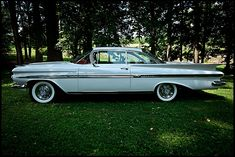 1959 Chevrolet Impala. Had it for years and years. Drove it for a while and then sold it, which was a big mistake. Worth huge $$$ now..