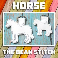 Horse - Includes TWO sizes!