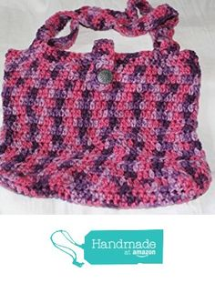 Hand Crocheted Variegated Plum Pudding Tote from Southern Women Crafts…