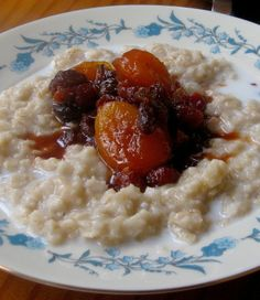 Comforting Winter Breakfasts: Oatmeal and fruit Compote | rachel's farm table