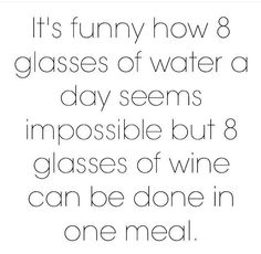 Water and wine