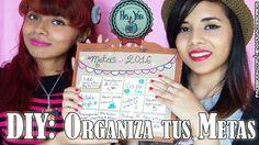 DIY: Organiza tus metas!