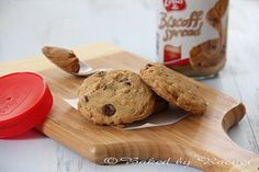 biscoff oatmeal choc. chip cookies
