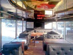 Enjoy A 12 Course Meal Atop Double Decker Bus