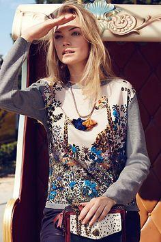 Giraffe sweater #anthropologie