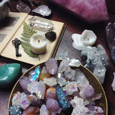 Crystals galore
