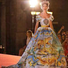Dolce & Gabbana Alta Moda autunno inverno 2017-2018 (Instagram)