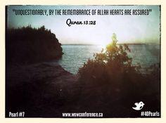 Words of Wisdom #40Pearls #Ramadan2013 #wowconference Pearl #7