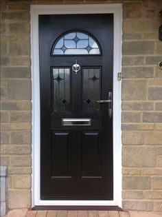 Are you wanting a new Front Door? With a Composite Door fitting you can renew your entryways appearance with only one easy purchase. A Composite Front Door supply and fit by us is ALWAYS a great choice. Entrance Doors, Garage Doors, Black Composite Door, Black Front Doors, Door Fittings, House Front Door, Protecting Your Home, Door Design, Tall Cabinet Storage