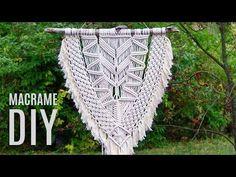 Modern Macramé Wall Hanging Tutorial by Macrame School - YouTube