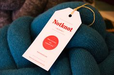 Notknot pillows by Umemi