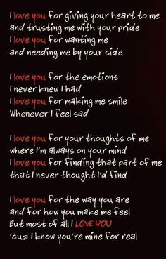 My beautiful Jersey girl, this is so perfect for you. You have showed me that love that I never thought was possible.