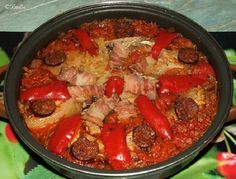 This domain may be for sale! Bbq Chicken, Paella, Beef, Ethnic Recipes, Food, Bed Room, Sitting Rooms, Meat, Eten