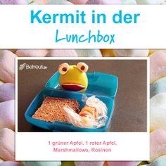 Abwechslungsreiche Ideen für die Lunchbox-Kermit der Frosch zum vernaschen!