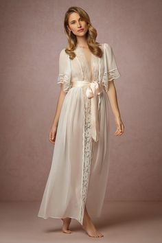 BHLDN Starlet Robe in  Shoes & Accessories Lingerie at BHLDN
