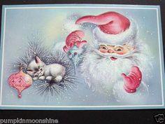 Pinky. Red.. Santa. Christmas..
