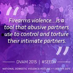 The National Domestic Violence Hotline | I #SeeDV as a Reason to Take Action on Gun Violence: Katie Ray-Jones