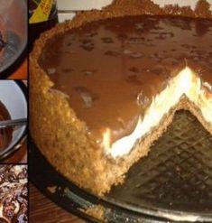 "Iubesti ciocolata, nucile sau visinile? Iata aceste 3 ingrediente intr-un desert super gustos, prajitura ""Noaptea alba"" Alba, Tiramisu, Pie, Ethnic Recipes, Desserts, Food, Knits, Torte, Tailgate Desserts"