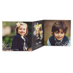 Captivating Crystals - Tri-Fold Holiday Cards - Hello Little One - Black