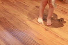 Handcrafted rough sawn flooring is available in both solid and engineered from Creekmore Fine Wood Products.