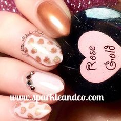 Rose Gold Powder from sparkleansco.com Salon Quality done right in your own home! For updates, customer pics, contests and much more please like us on Facebook www.facebook.com/sparkle.and.co.nails #rose #rosegold #chromenails #chromeart #mirror #mirrornails #mirrorart #diynails #naildesign #dippowder #gelnails #nailpolish #mani #manicure #dippowdernails Mirror Nails, Mirror Art, Diy Nails, Manicure, Mirror Powder, Rose Gold Mirror, Gold Powder, Chrome Nails, Own Home