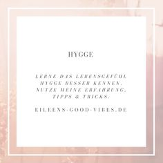 Hygge, Tricks, Contentment, Learning