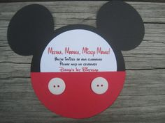 Hey, I found this really awesome Etsy listing at http://www.etsy.com/listing/105288232/mickey-mouse-invitations-set-of-10
