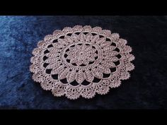 How to Crochet Doily Pattern ThePatternFamily Crochet Doily Patterns, Crochet Squares, Thread Crochet, Knit Or Crochet, Crochet Doilies, Crochet Stitches, Free Crochet, Fillet Crochet, Crochet Abbreviations