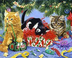 Linda Picken Art Studio / Curly Ribbons Catnip.jpg